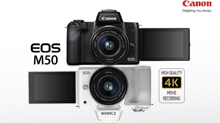 รีวิวกล้อง Canon EOS M50