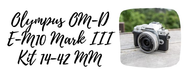Olympus OM-D E-M10 Mark III Kit 14-42 MM