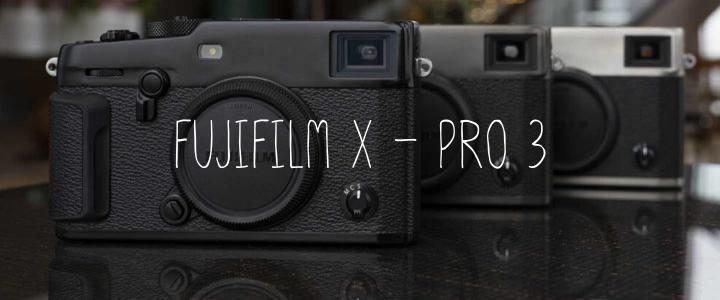 รีวิว Fujifilm X-Pro3