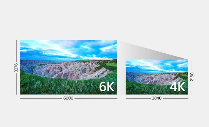 การถ่ายวีดิโอฟูลเฟรม 4K