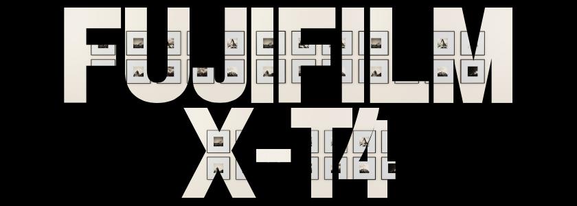 Fujifilm X - T4
