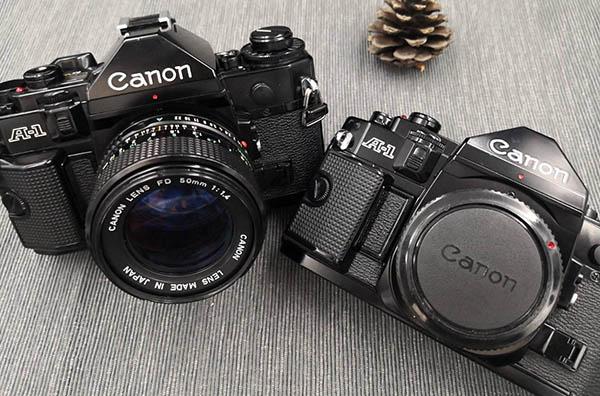 5 กล้องฟิล์มสุดเก๋ Canon A-1
