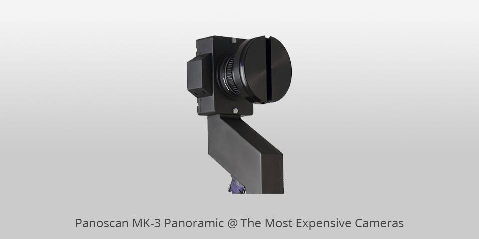 Panoscan MK-3 Panoramic 5 อันดับ กล้องที่แพงที่สุดในโลก